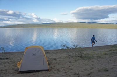 Nice camping spot