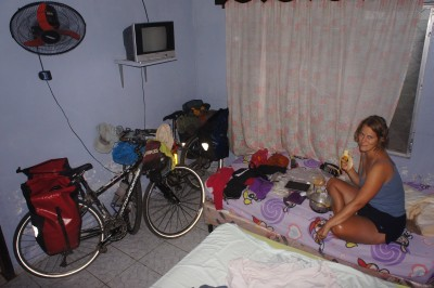 One of our rooms in Honduras (this was actually a nice one!)