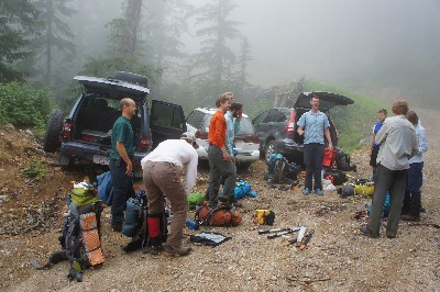 Harrison Hut Trail Work: Making a Change in the World