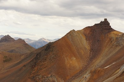 Castle Mtn: Intense colours in the South Chilcotins
