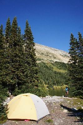 Camping by Blowdown Lake
