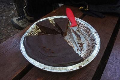 Killer flourless chocolate cake