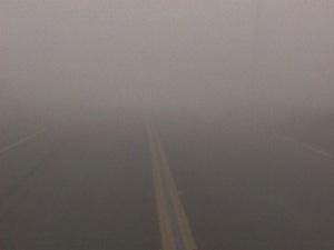 Dense Fog! Photo: NOAA