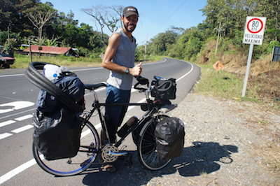 XXX from El Salvador, cycling six continents in three years