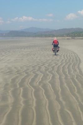Incredible beach cycling on the Nicoya Peninsula, Costa Rica
