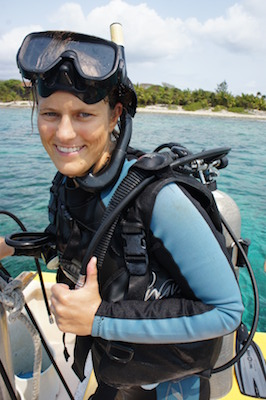 Diving on Utila, Honduras