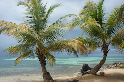 Beautiful beaches in Belize