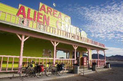 Area 51 Alien store