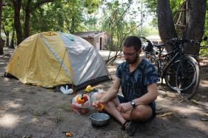 Camping at La