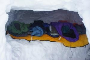 Roomy Snowcave
