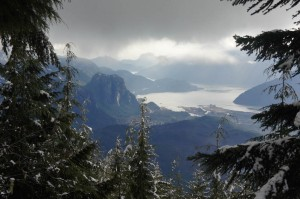 The view of the Chief and Squamish never gets old