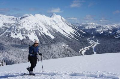 Incredible weather and snow on Mount Iago