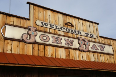 The town of John Day