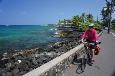 Riding in Kona