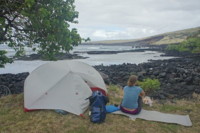 Free camping in Whittington Beach County Park