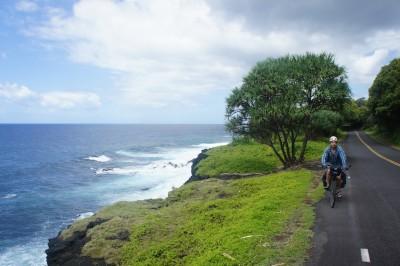 Superb coastal cycling
