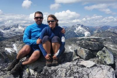 On the summit of Tsil