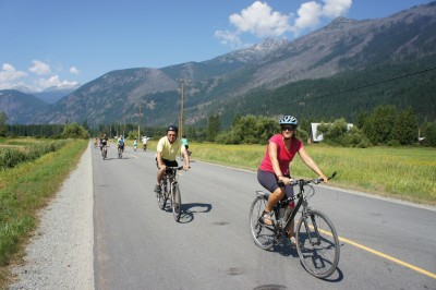 Pemberton: Slow Food Bike Ride Goes Even Slower