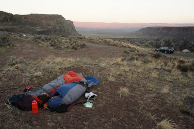 Sleeping out in the open - the delights of desert camping
