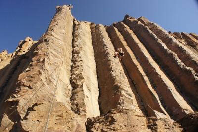 Climbing in Vantage: the Mirski Brothers in action