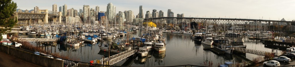 Granville Island - the start of our tour