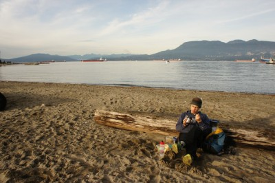 Picnic at Jericho beach and some sunshine