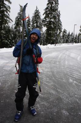 Matt, ready for some skiing!