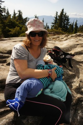 Breastfeeding with a view
