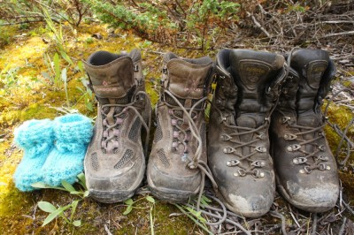 Our hiking boots