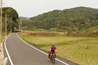 A short quiet section on the way to Nagasaki