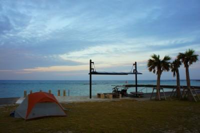 Camping on Takonoshima