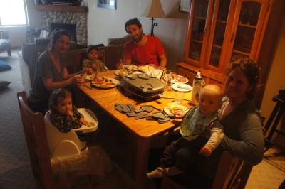Raclett dinner