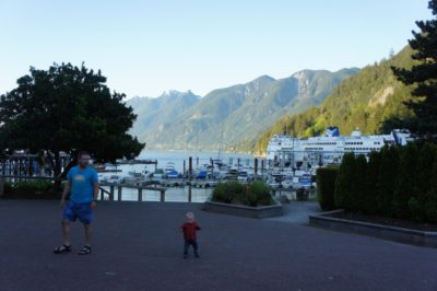 Back at Horseshoe Bay, more walking