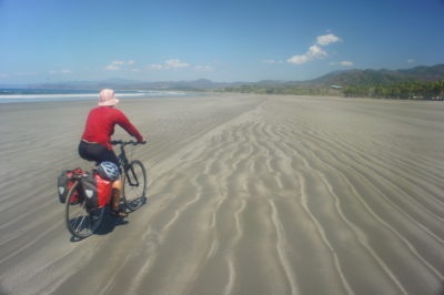 In Costa Rica, when we cycled for five months from Panama to Belize,