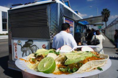 Mexican food truck, LA