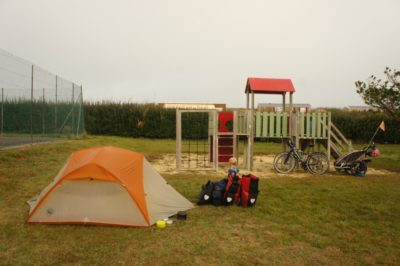 A typical campground comes with a playground built in